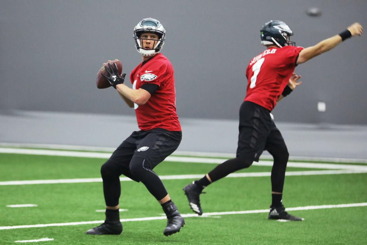 Eagles practice