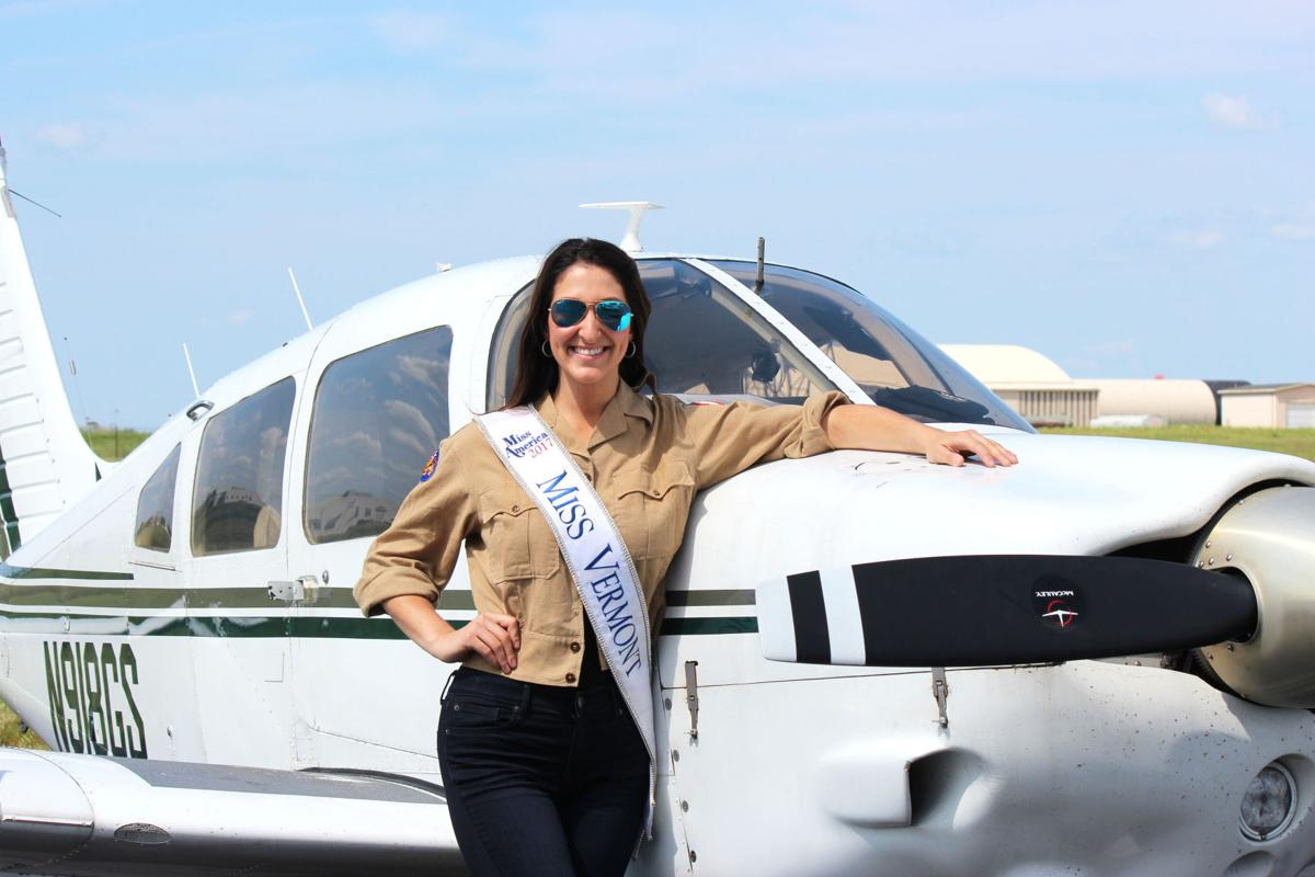 Miss Vermont pilots plane to arrive in A.C. for Miss America