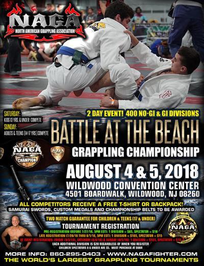 MMA on WW beach | Events | pressofatlanticcity com