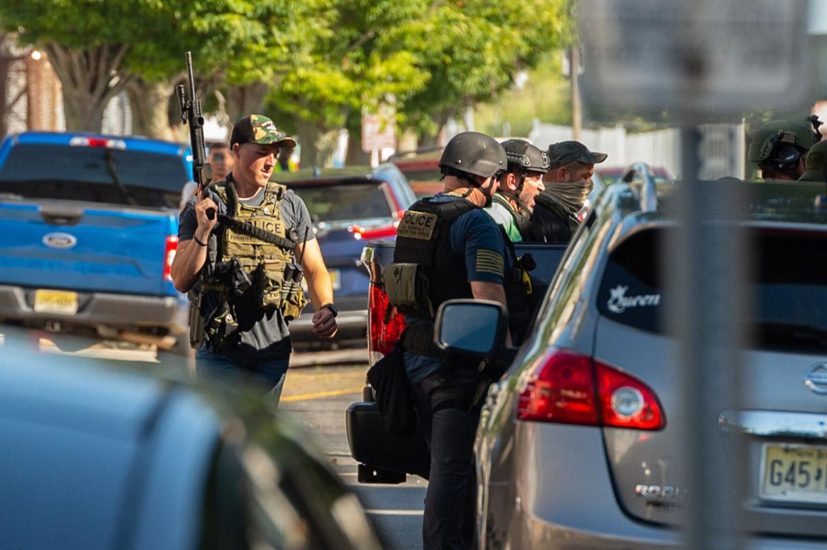 Atlantic City police standoff