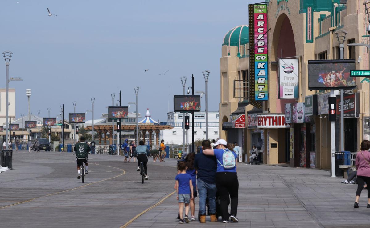Atlantic City Boardwalk Beach
