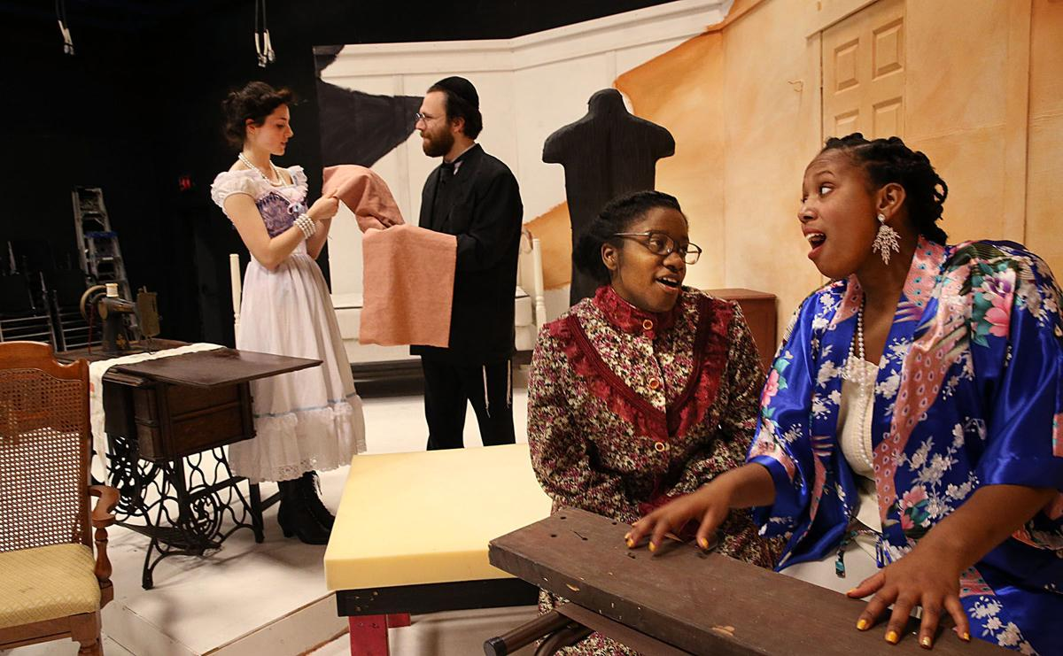 intimate apparel play analysis Pulitzer prize-winning playwright lynn nottage's intimate apparel opened to a  standing ovation on friday, feb 9, at the fine arts center.