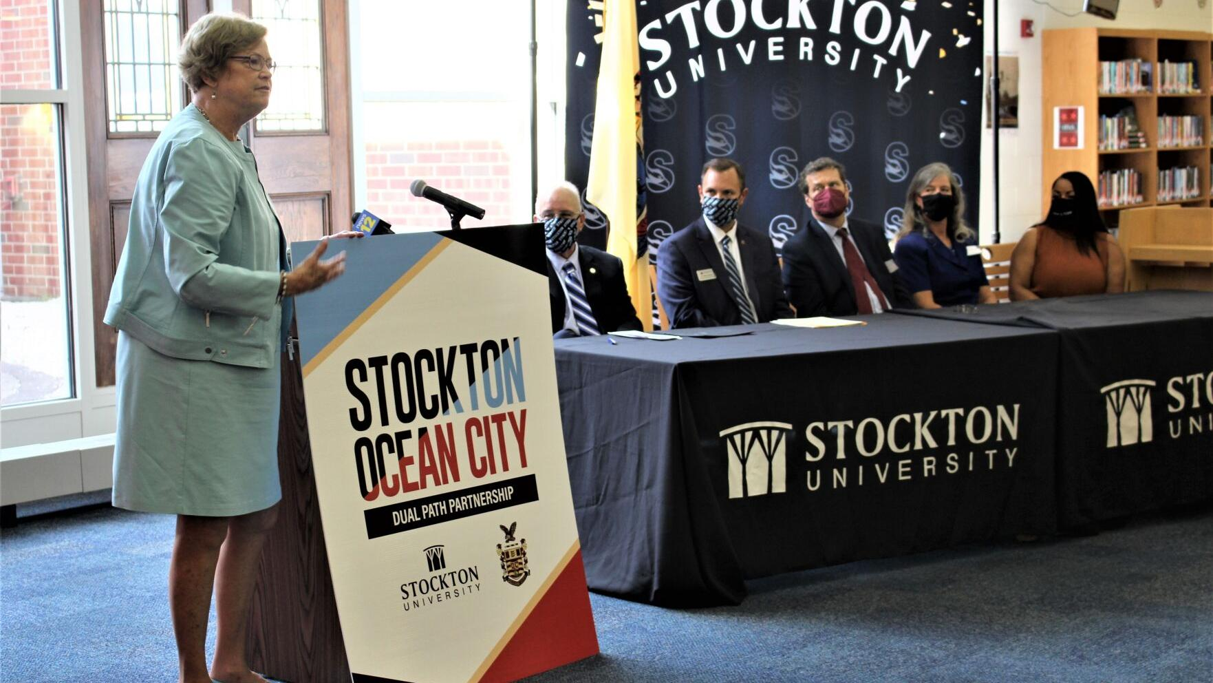 Ocean City, Stockton agreement paves way for students to graduate both in six years