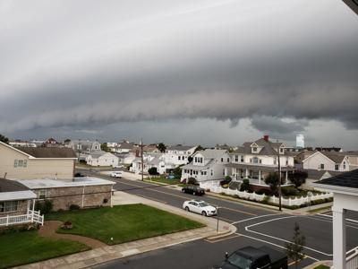 Wildwood Crest Shelf Cloud Thunderstorm