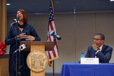Lt. Gov. Sheila Oliver, Special Counsel Jim Johnson