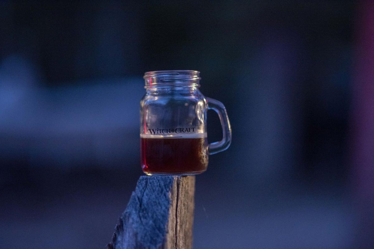 witchcraft beer mug