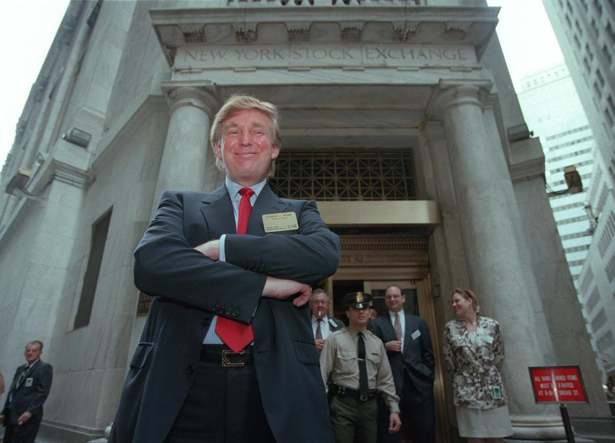 Donald Trump and stock; Trump Plaza Casino goes public 1995