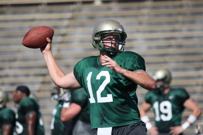Brent Caprio at practice 2012