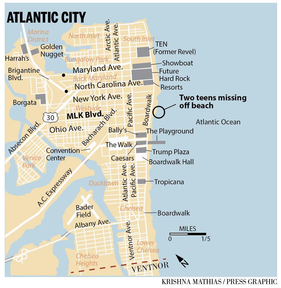 Missing swimmers Atlantic City