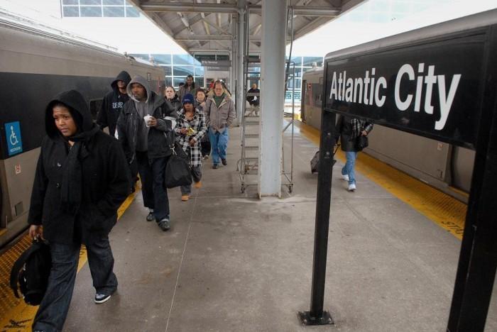 Atlantic City Rail Line May Still Expand Despite Christie