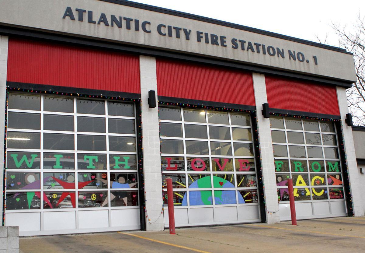 Atlantic City Firehouse Mural Pressofatlanticcity