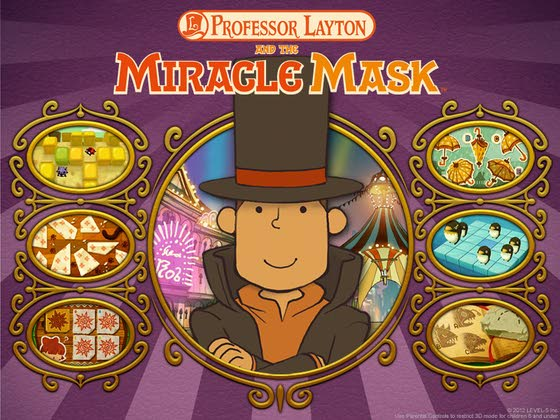 Mario, Prof. Layton keep 3DS humming