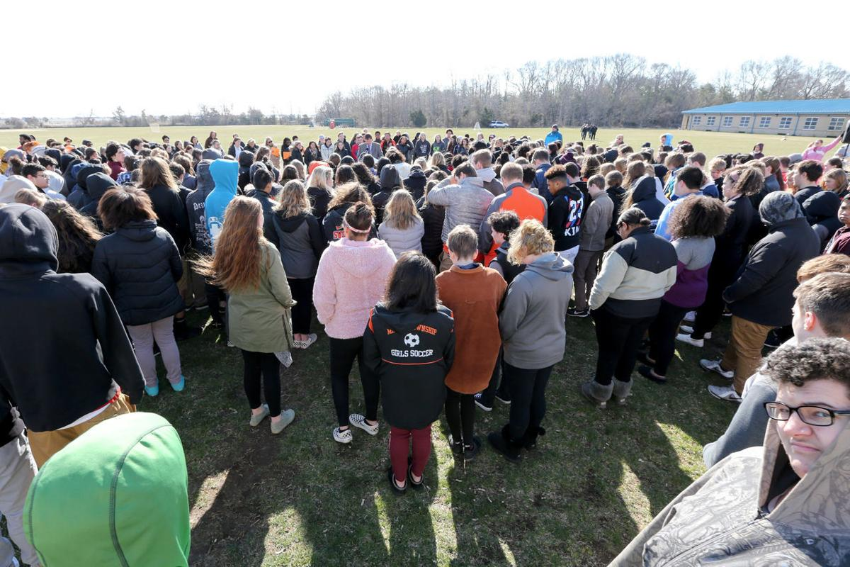 Middle Twp Walkout Honoring Parkland