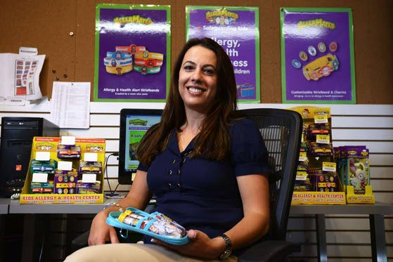 Kids' food allergies are fought with fun