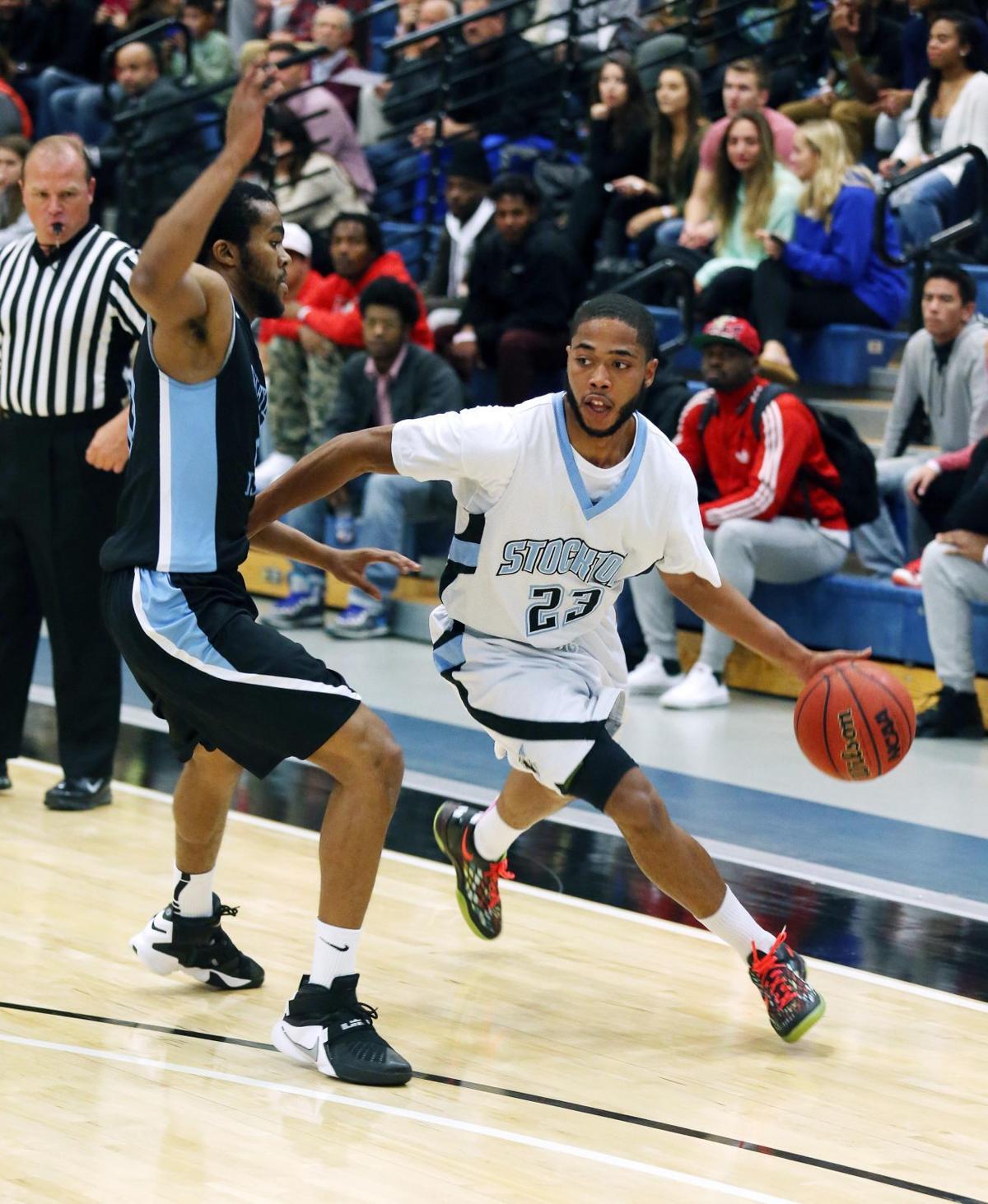 Stockton men basketball opener