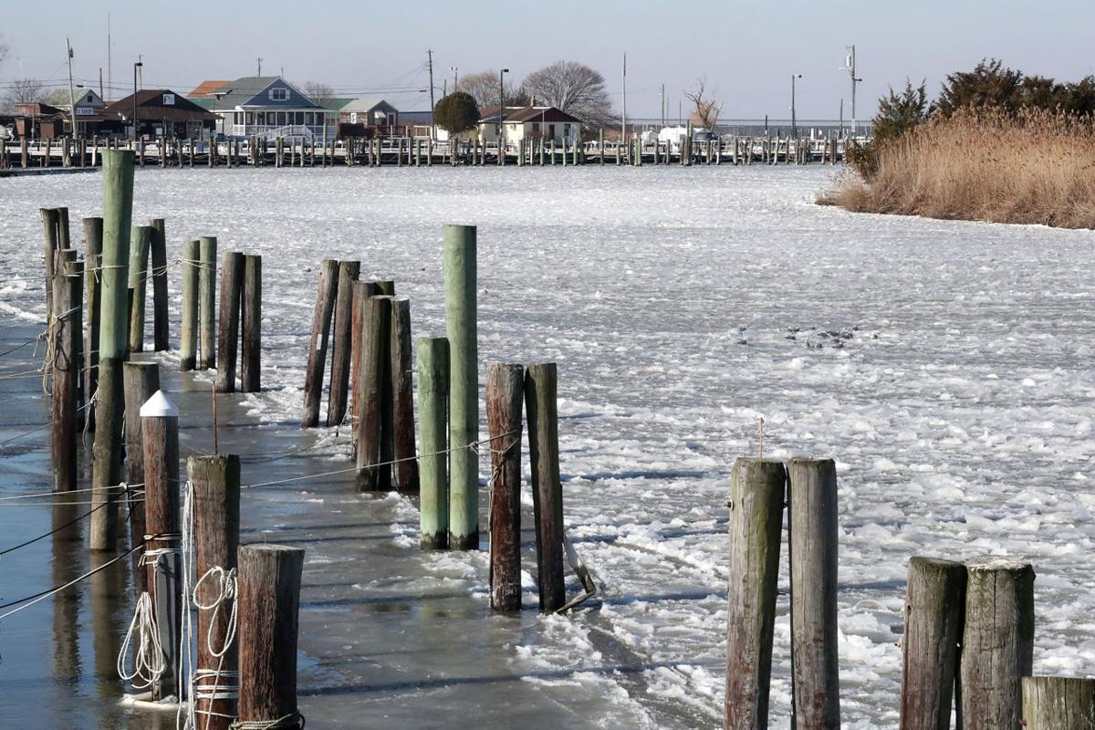Winter brings a quiet riot of work to delaware bay towns breaking fortescue delaware bay bayshore nvjuhfo Choice Image