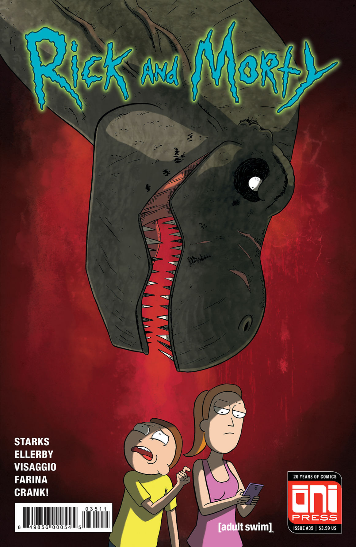 RICKMORTY #35 - 4x6 COVER A SOLICIT WEB