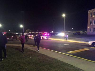 Shooting at Pleasantville football game