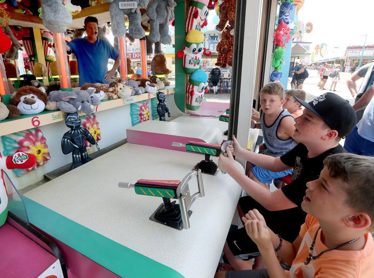 Summer Boardwalk Games Barker McGarry