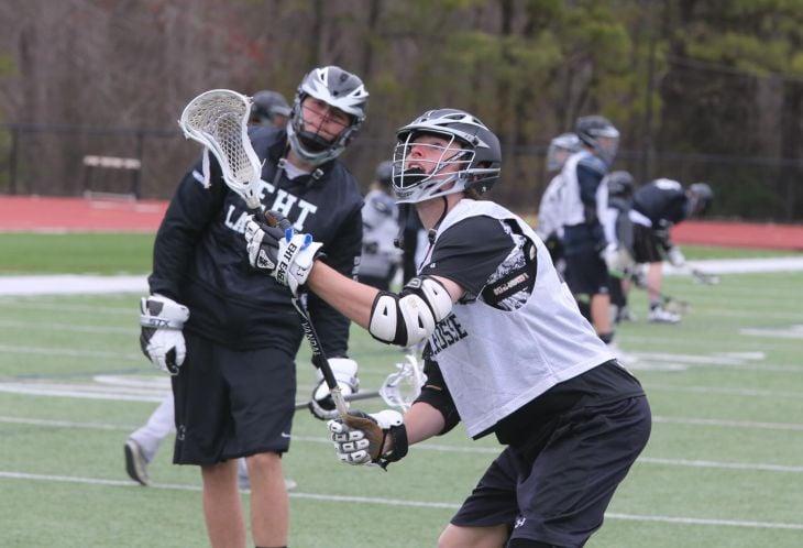EHT boys lacrosse practice