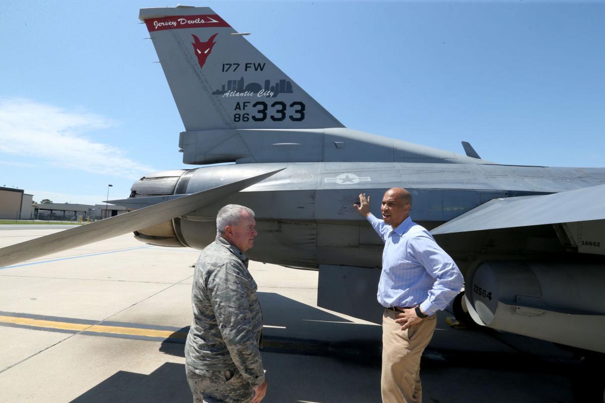 Booker Pushes For F 35 Fighter Jets For Atlantic City Air Base Latest Headlines Pressofatlanticcity Com