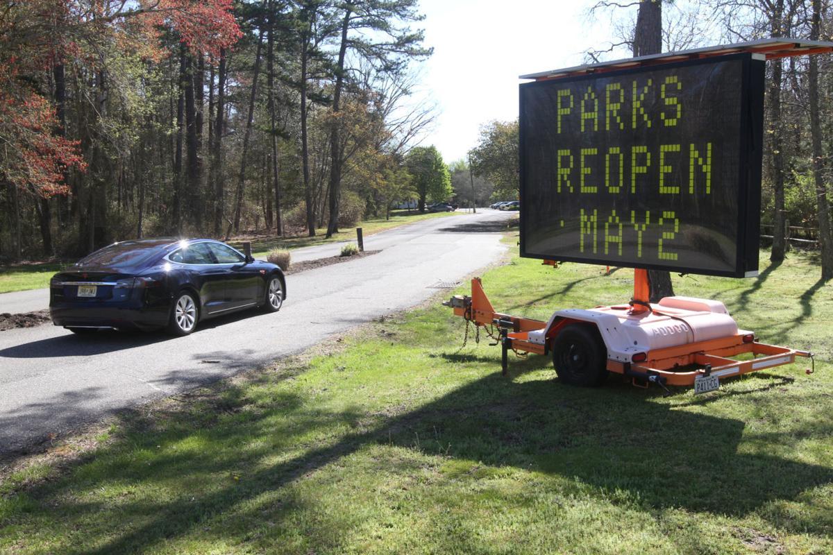 Parks open