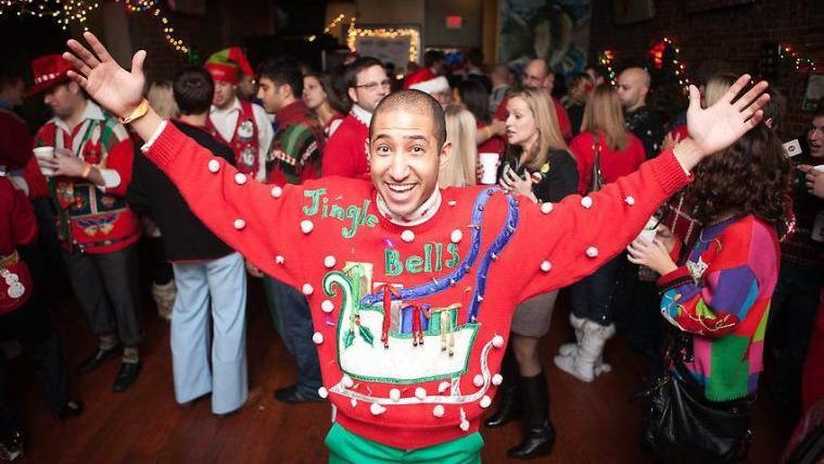 7 spots for an ugly sweater party