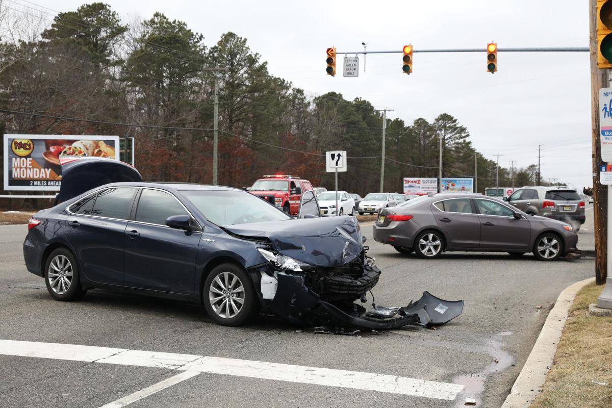 Two Car Crash Monday In Egg Harbor Township News