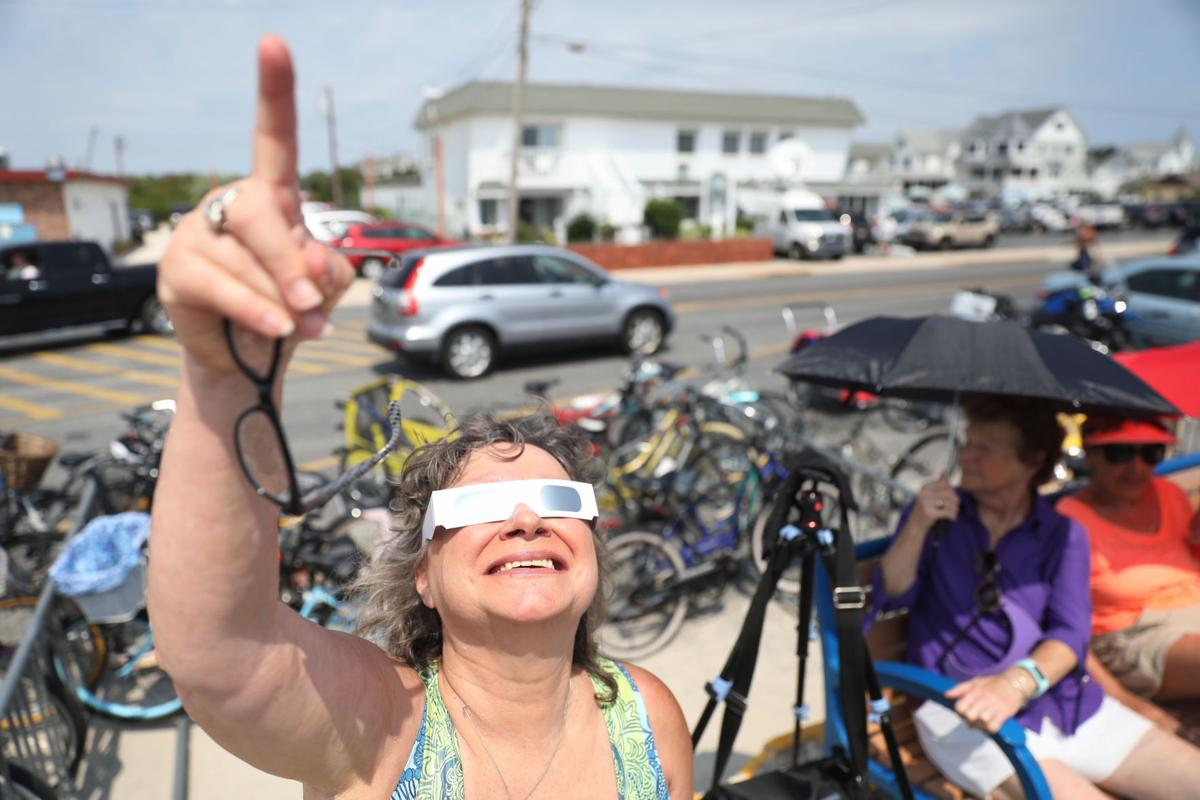 Cape May eclipse
