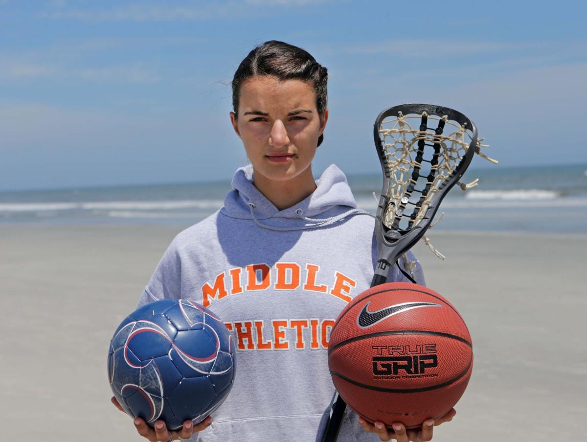 Bridget Ruskey, soccer, basketball and lacrosse, 2017