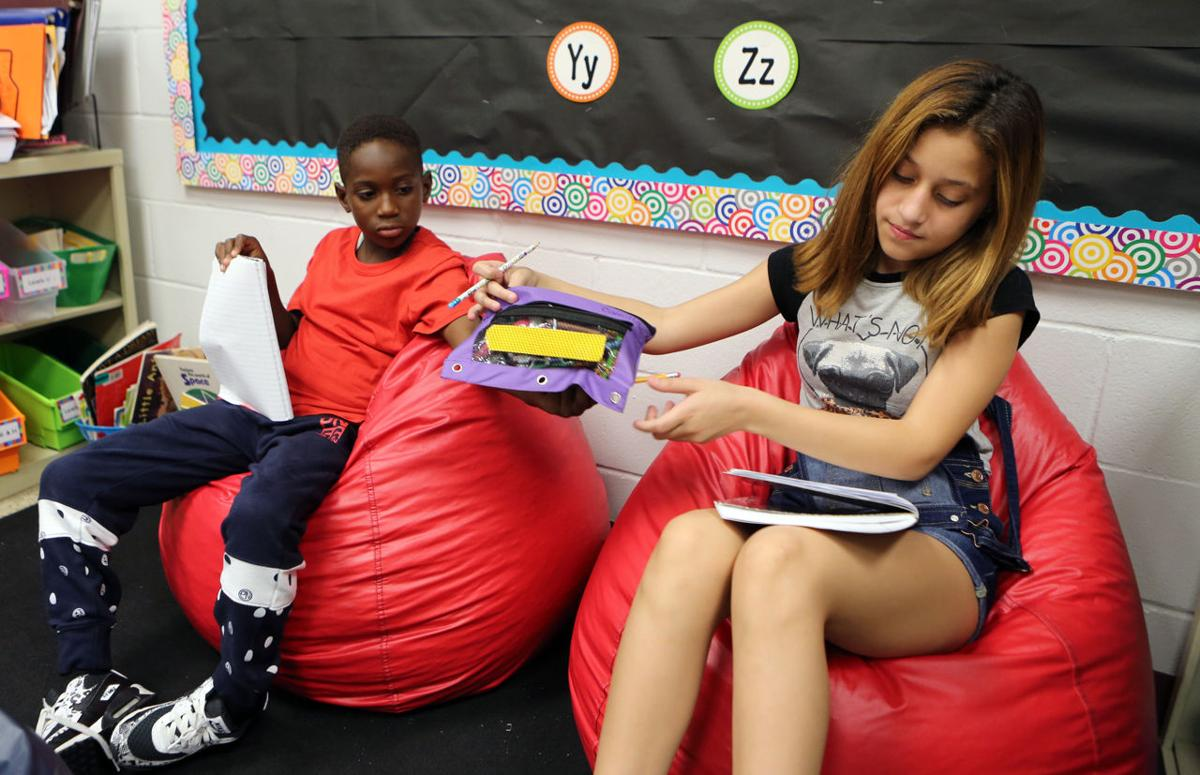 Bean Bag Chairs Exercise Balls Finding Way Into Classrooms