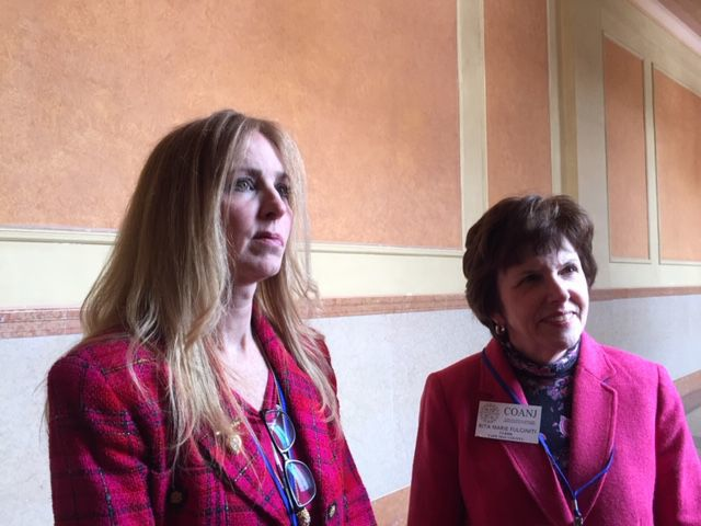 Maureen Bugdon and Rita Marie Fulginiti