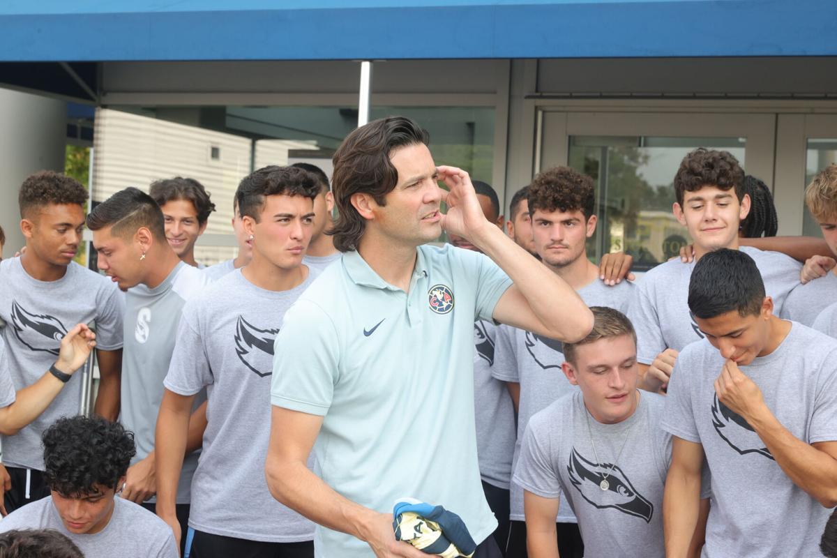 Solari soccer photo for B1 for Wednesday, Sept. 15