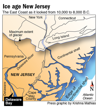 Ice age New Jersey