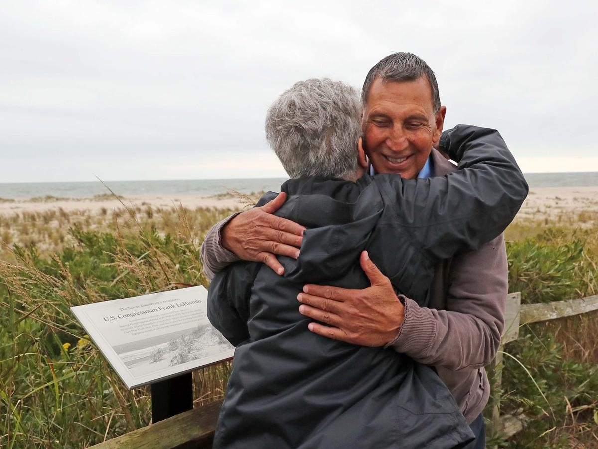 Frank LoBiondo at Nature Conservancy's South Cape May Meadows Preserve