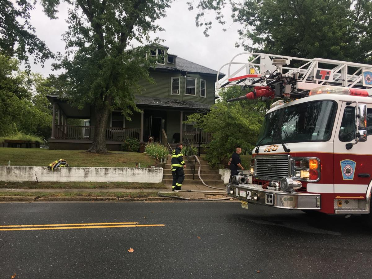 Firefighters respond to house fire in Pleasantville