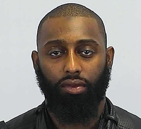 Police arrested Markese Childers on Thursday after he allegedly shot his six-week-old infant son and girlfriend, before fleeing.