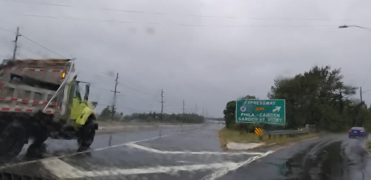 Route 40 Flooding AC Expressway