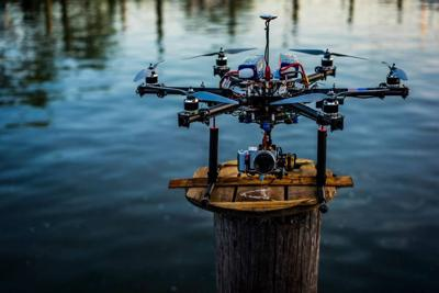 One of the Drones used by Parker Gyokeres for aerial photography and videography.