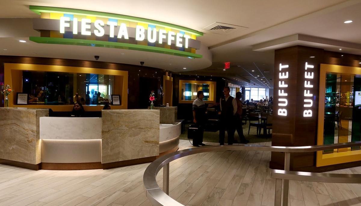 Admirable Trop Freshens Things Up In Two Dining Spots Fiesta Buffet Interior Design Ideas Gresisoteloinfo