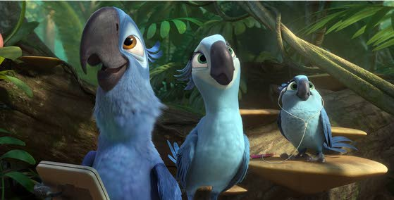 'Rio 2' piles it on and spoils the fun