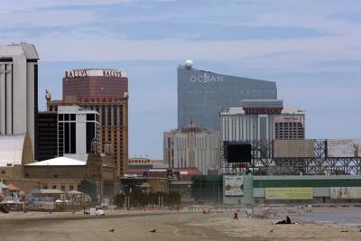 Atlantic City Skyline
