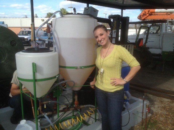 Embry-Riddle Student from Hammonton Develops Biofuel System for University
