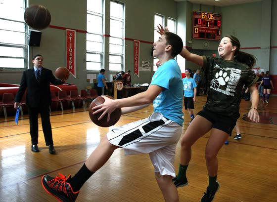 Students at St. Joe's compete to help charities