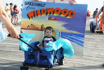 Baby parade in Wildwood