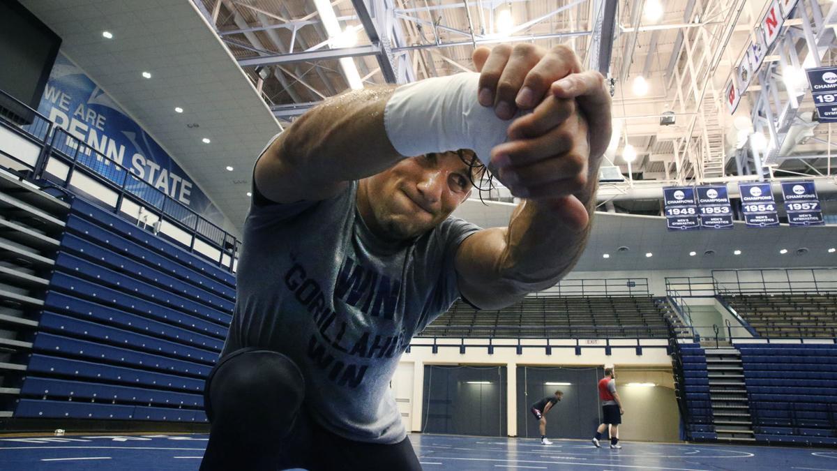 Frank Molinaro USA Wrestling Team Member 2016