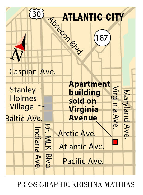 Virginia Ave. apartment Atlantic CIty 2016
