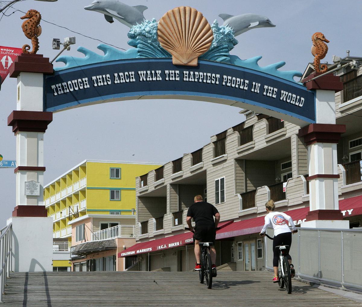 Biking the Boardwalks
