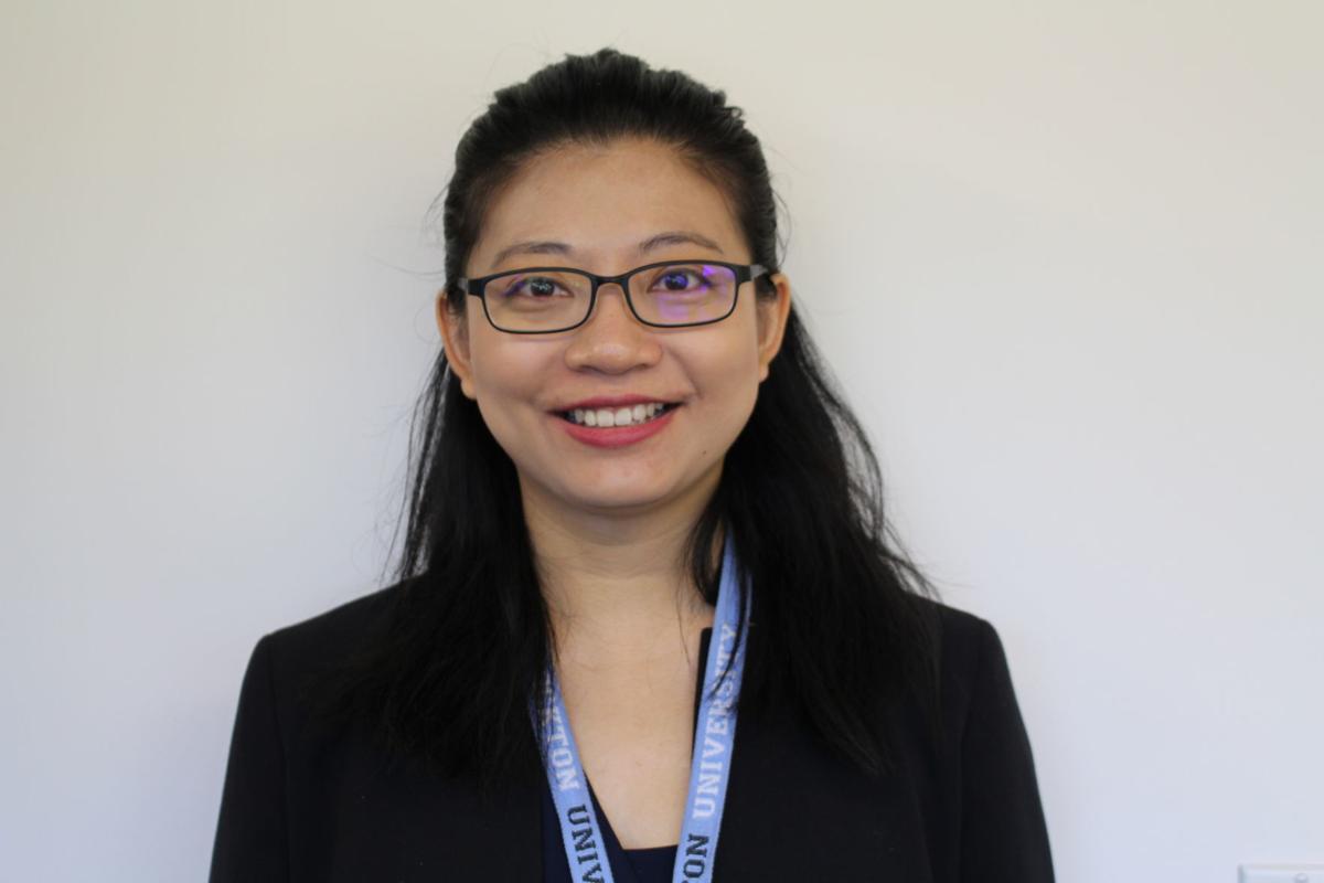 Ruibin Lu of Stockton University