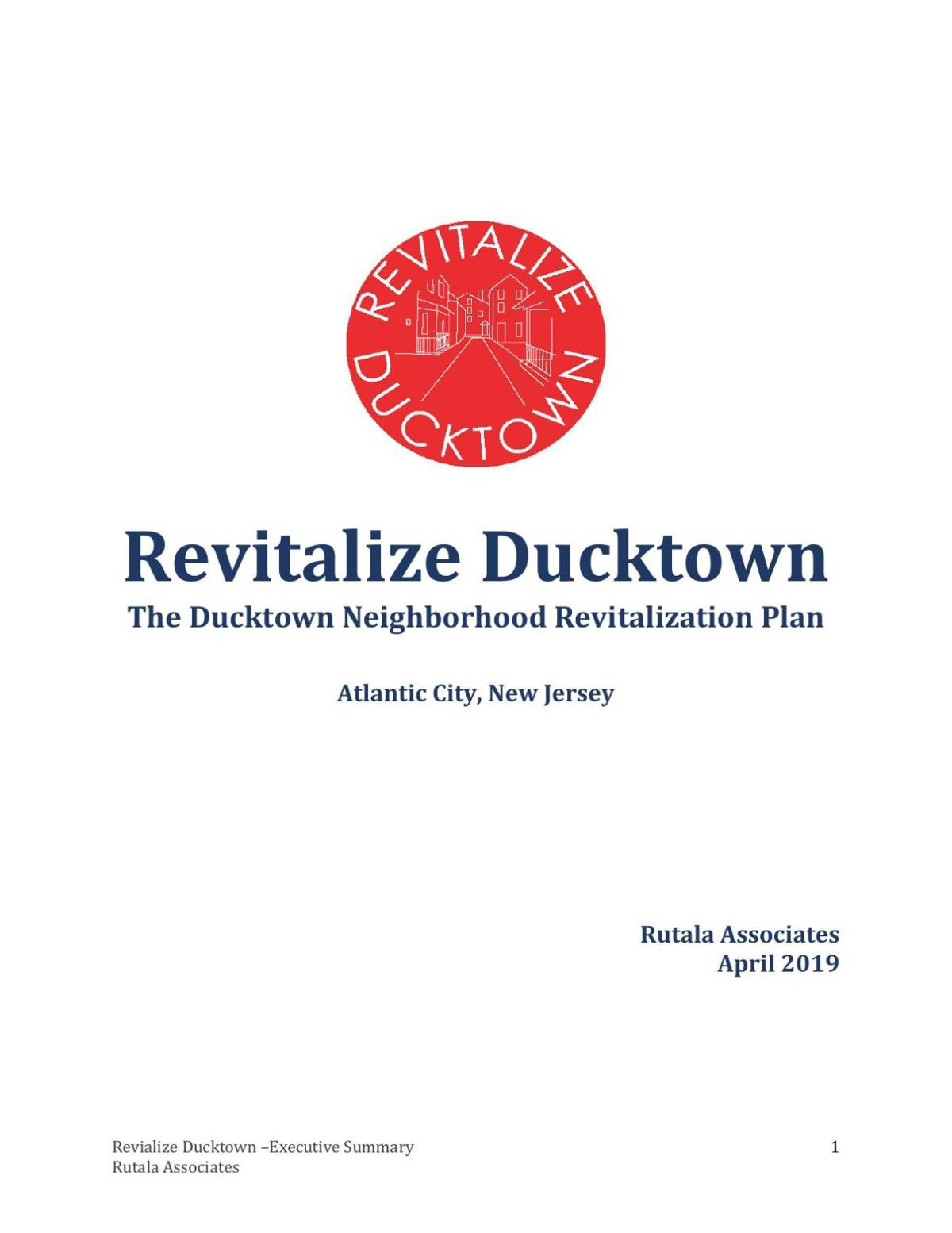 Ducktown Revitalization report